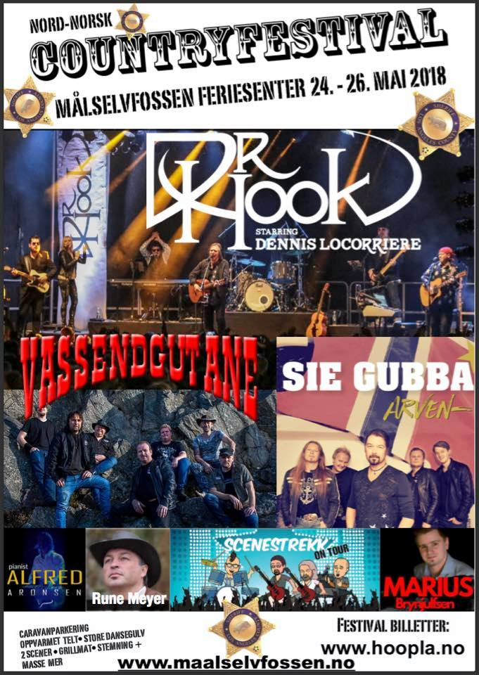 Nord Norsk Countryfestival 2018 – 24-27 mai